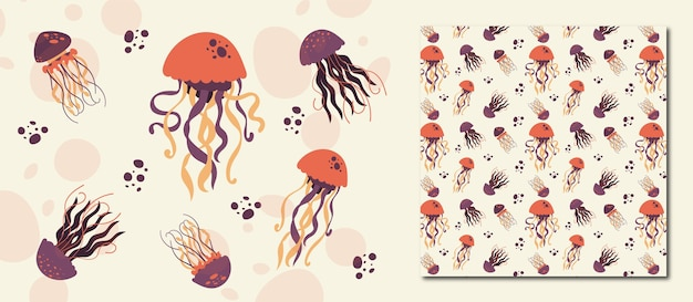 Modello di meduse senza soluzione di continuità