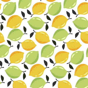 Limone senza soluzione di continuità, pattern di lime