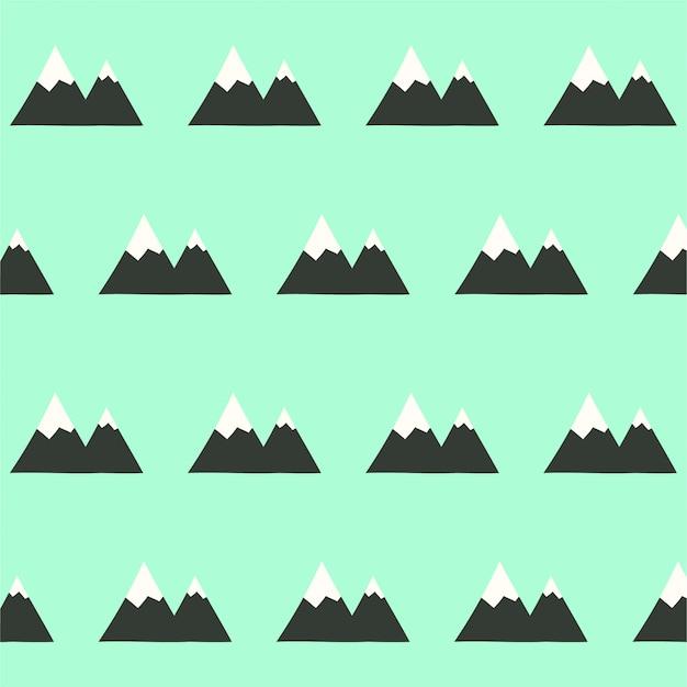 Sfondo di montagna senza soluzione di continuità