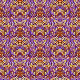 Modello di fiore multicolore senza soluzione di continuità