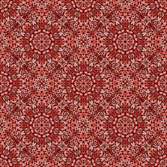 Modello di mosaico di pietra bohémien orientale senza soluzione di continuità