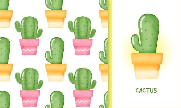 Cactus senza cuciture