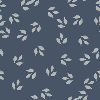 Cardamomo senza cuciture su sfondo grigio scuro. ornamento di schizzo di pianta carina. modello di trama casuale per tessuto. illustrazione di vettore di progettazione.
