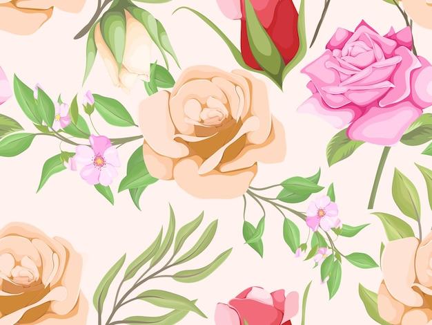 Design del modello senza cuciture per la stampa tessile e il modello di design della moda