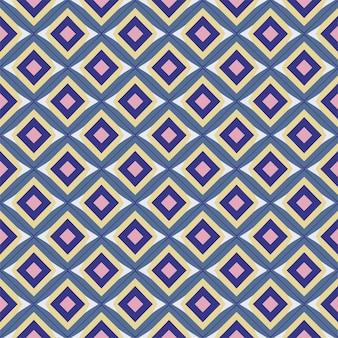 Modello senza cuciture geometrico. sfondo astratto colorato. disegno vettoriale. stile moderno.