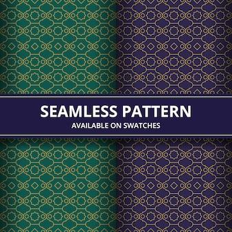Modello senza soluzione di continuità forma geometrica in stile batik. sfondo. motivo tradizionale elegante.