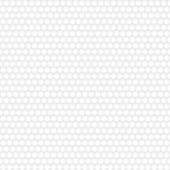 Modello senza cuciture di esagoni, bianco su grigio