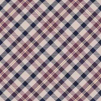 Modello senza cuciture di plaid scozzese scozzese. sfondo ripetibile con trama del tessuto check. sfondo vettoriale piatto di stampa tessile a strisce.