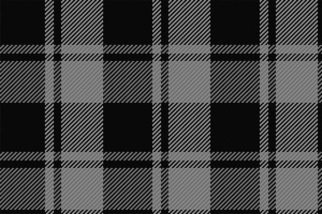 Modello senza cuciture del plaid scozzese scozzese. sfondo ripetibile con trama del tessuto a quadri. sfondo vettoriale piatto di stampa tessile a righe.