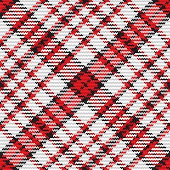Modello senza cuciture del plaid scozzese del tartan. sfondo ripetibile con trama del tessuto a quadri. sfondo vettoriale piatto di stampa tessile a righe.