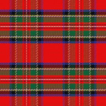 Scozzese scozzese senza cuciture