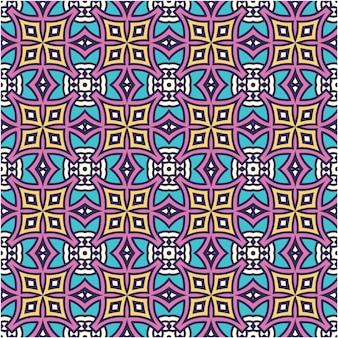 Modello senza cuciture con stile motivo batik