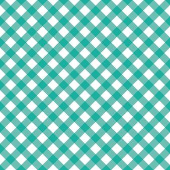 Modello senza cuciture con plaid blu