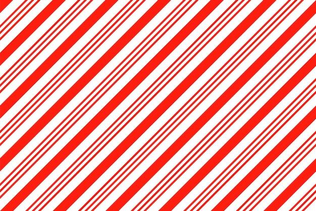 Modello senza cuciture con strisce di zucchero filato. sfondo di natale. illustrazione vettoriale.
