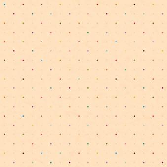 Seamless con puntini colorati