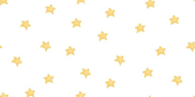 Modello senza cuciture con stelle, illustrazione