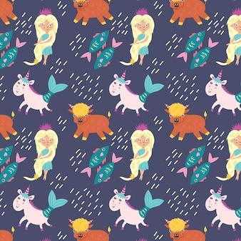 Segni zodiacali senza cuciture