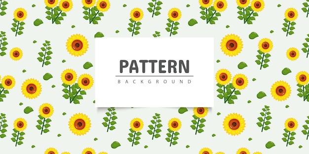 Seamless pattern girasole