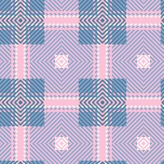 Seamless pattern tartan. trama tessuta scozzese.