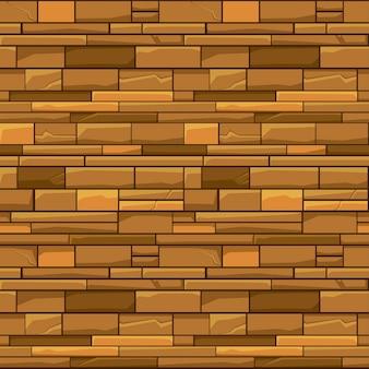 Muro di pietra di mattoni di struttura senza giunte