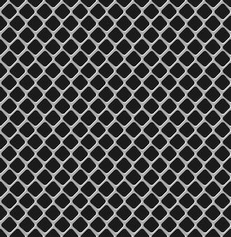 Seamless texture della griglia metallica.
