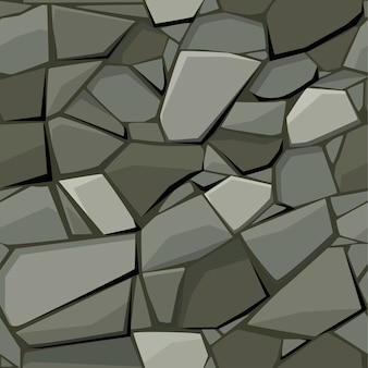 Seamless texture per pavimentazione in pietra e ciottoli.