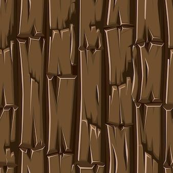 Pannelli di legno senza cuciture, vecchio pavimento da tavole per il gioco dell'interfaccia utente