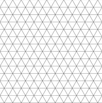 Fondo senza cuciture del modello geometrico del triangolo per progettazione. illustrazione vettoriale