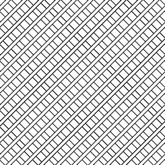 Modello vettoriale senza soluzione di continuità. trama di sfondo geometrico. colore bianco e nero. stile semplice e moderno in design piatto.
