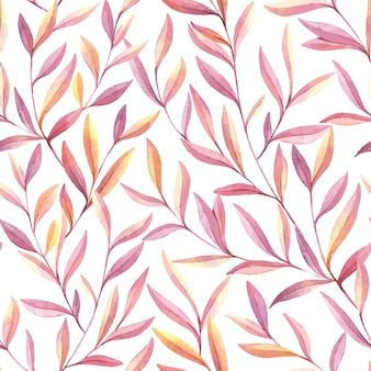 Seamless pattern di acquerello