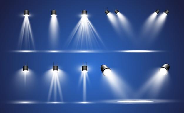 Collezione di proiettori per illuminazione scenica