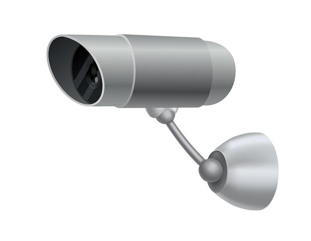 Telecamera di sicurezza. telecamera di videosorveglianza decorativa.