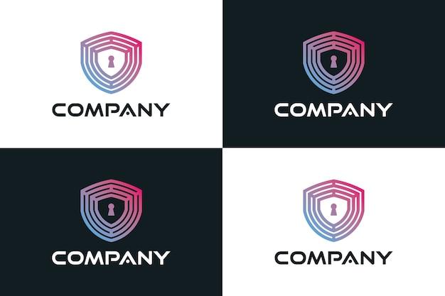 Illustrazione del logo di sicurezza