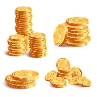 Selezione di monete d'oro