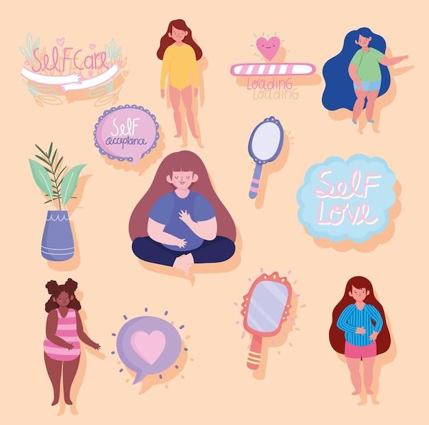 Set per la cura di sé