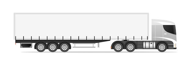 Illustrazione del camion semi rimorchio