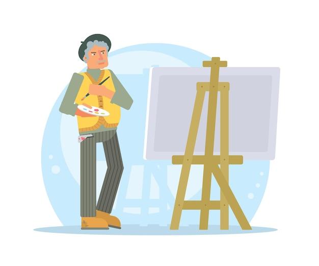 Personaggio di artista senior