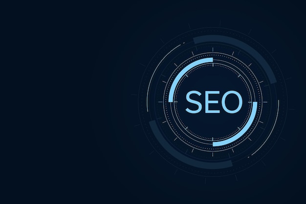 Concetto di seo, ottimizzazione dei motori di ricerca, posizionamento del sito web, concetto di navigazione