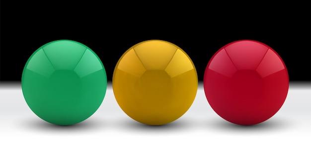 Set di sfere 3d