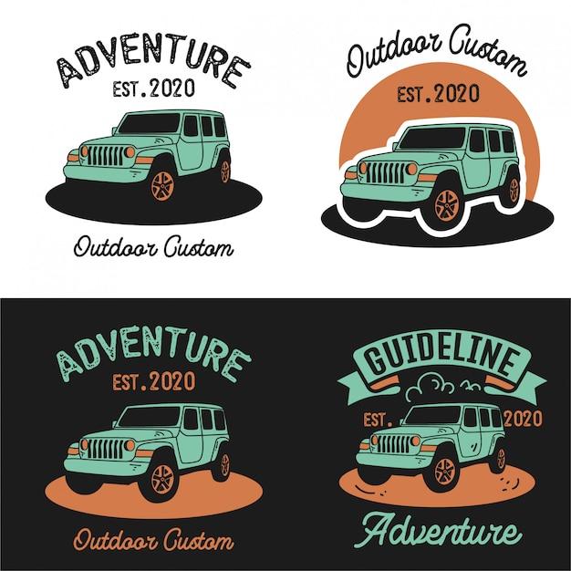 Impostare il logo del modello di auto avventura