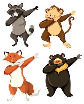 Set di animali dabbing