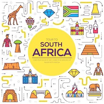Set di architettura, oggetto, concetto di natura. piatto etnico tradizionale infografica, contorno, linea sottile.