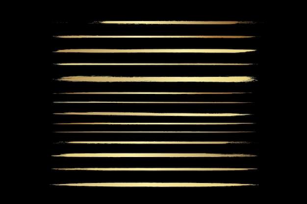 Set di pennelli artistici pennelli per inchiostro scarabocchiset di pennelli vettoriali grunge raccolta di tratti