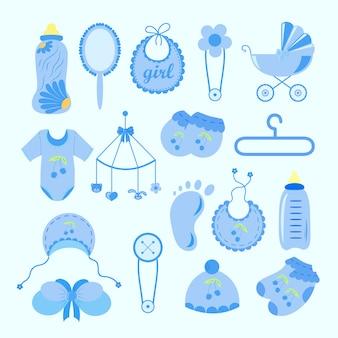 Set di elementi doccia per bambini