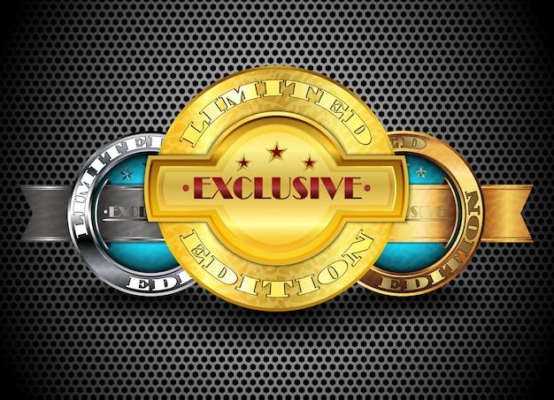 Serie di badge in edizione limitata