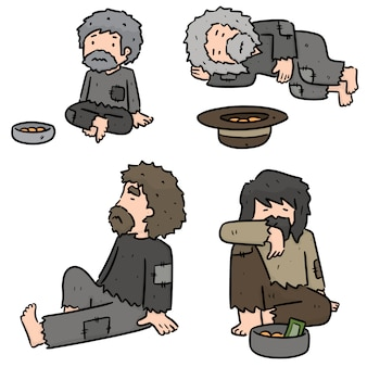 Set di mendicante