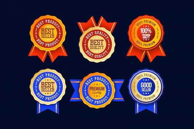 Imposta il modello di etichetta del best seller.