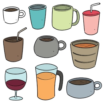 Set di tazza per bevande