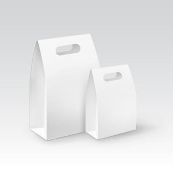 Set di imballaggi di scatole di cartone vuote