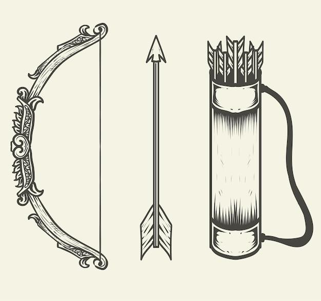 Impostare la raccolta di accessori per l'arco